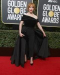 Christina Hendricks at the 75th Annual Golden Globe Awards at The Beverly Hilton Hotel in Beverly Hills
