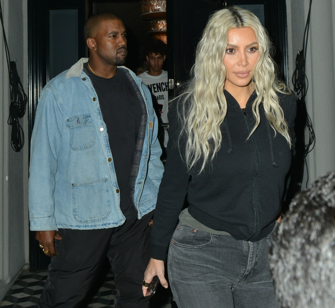 Kim Kardashian hints that Baby Girl West's name might involve 'Louis Vuitton'
