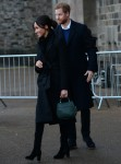 Prince Harry and Meghan Markle at Cardiff Castle
