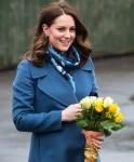 The Duchess of Cambridge visits Roe Green Junior School