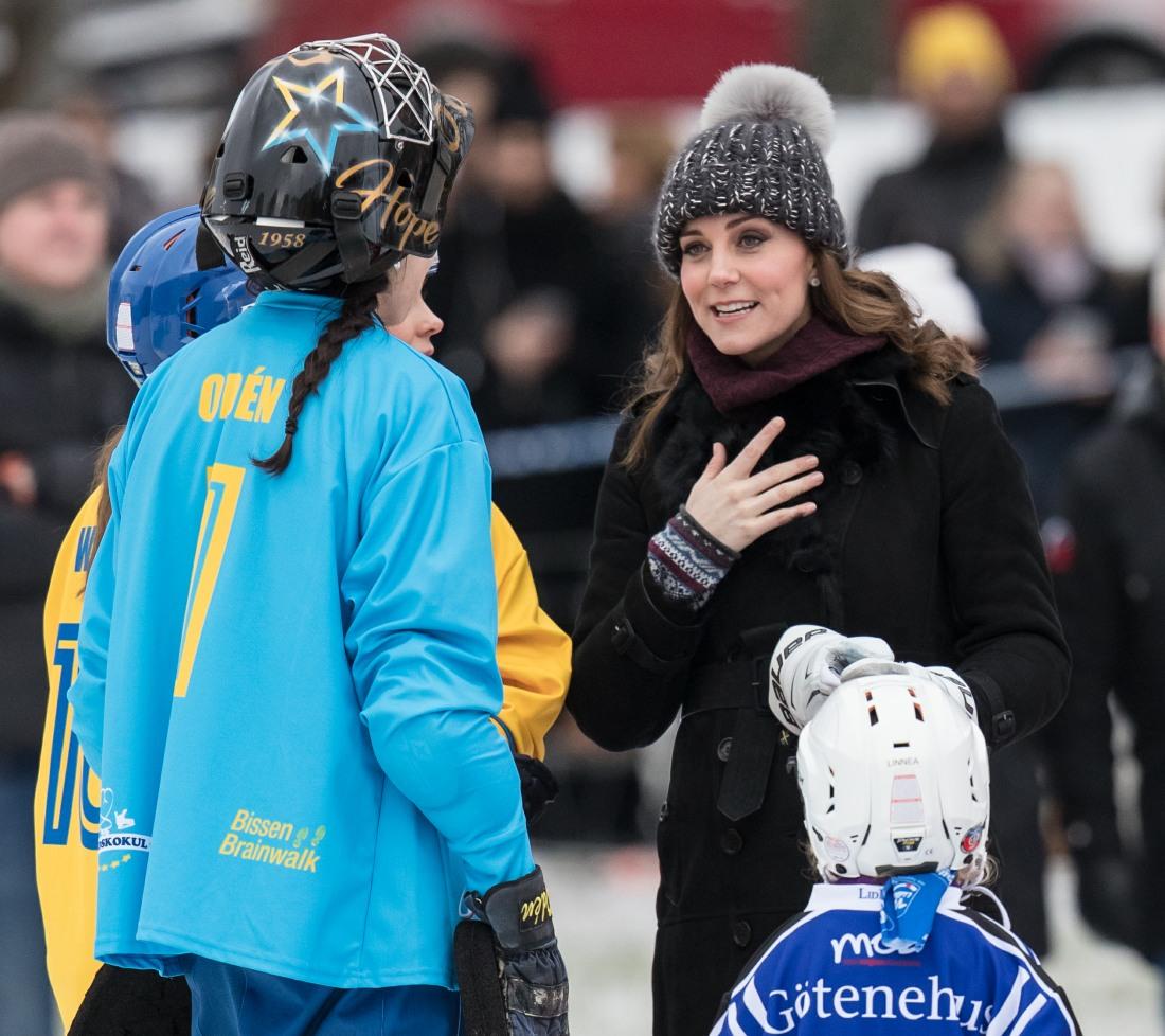 Cambridges hockey Sweden