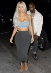 Kim Kardashian and Kanye West celebrate Kendall Jenner's 22nd birthday