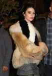 Kendall Jenner, Hailey Baldwin, Joan Smalls, and Doutzen Kroes step out during NYFW