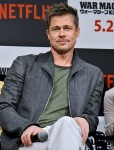 "Brad Pitt attends ""War Machine"" Press Conference in Tokyo"
