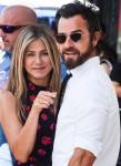 Jennifer Aniston and Justin Theroux attend Jason Bateman's Walk of Fame ceremony