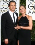 Jennifer Aniston, Justin Theroux attends  The 72nd Golden Globe Awards in Los Angeles