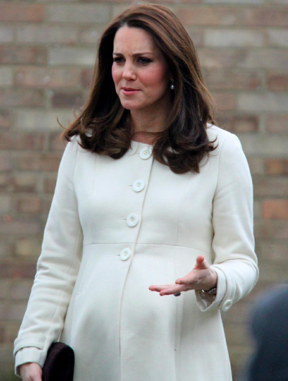 Catherine Duchess of Cambridge visits Pegasus Primary School in Oxford