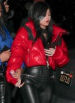 New mom Kylie Jenner and BFF Jordyn Woods arrive to Tristan Thompson's Birthday Party
