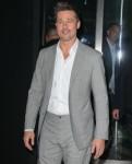 """Brad Pitt arrives for the """"Okja"""" premiere in New York City"""