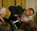 President Barack Obama and Stephen Hawking