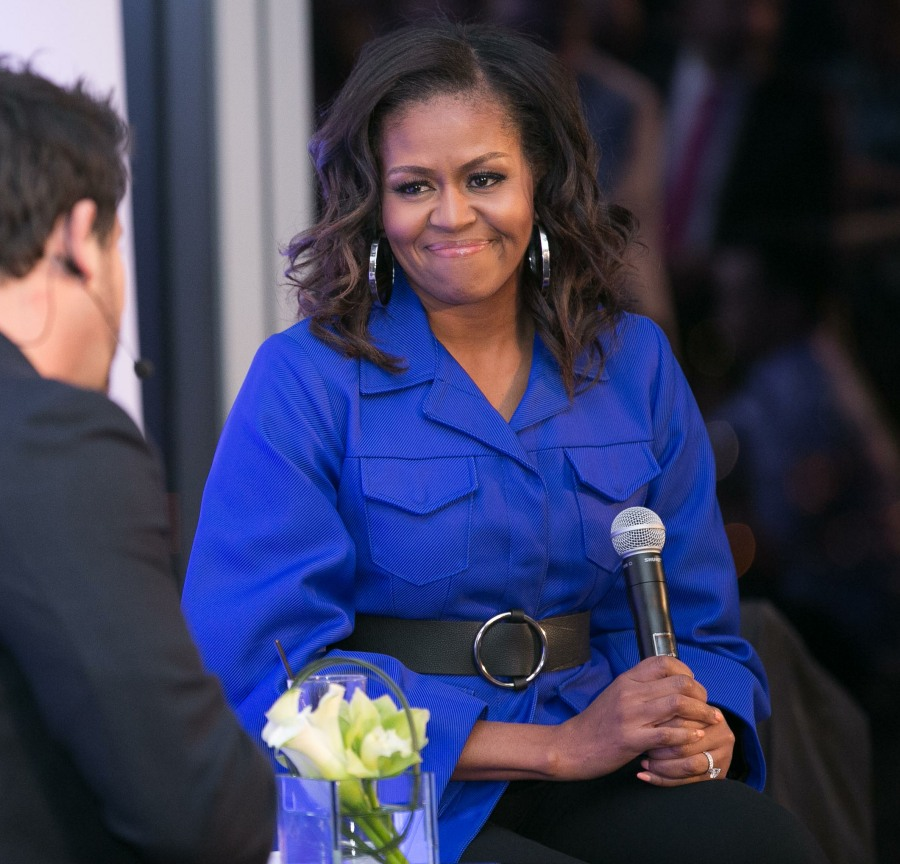 Michelle Obama at the Klick Health event