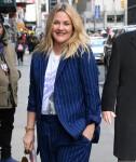 Drew Barrymore visits Stephen Colbert Show