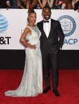 Ryan Michelle Bathe, Sterling K. Brown attends the 49th NAACP Image Awards