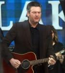 Blake Shelton performs on NBC's Today Show