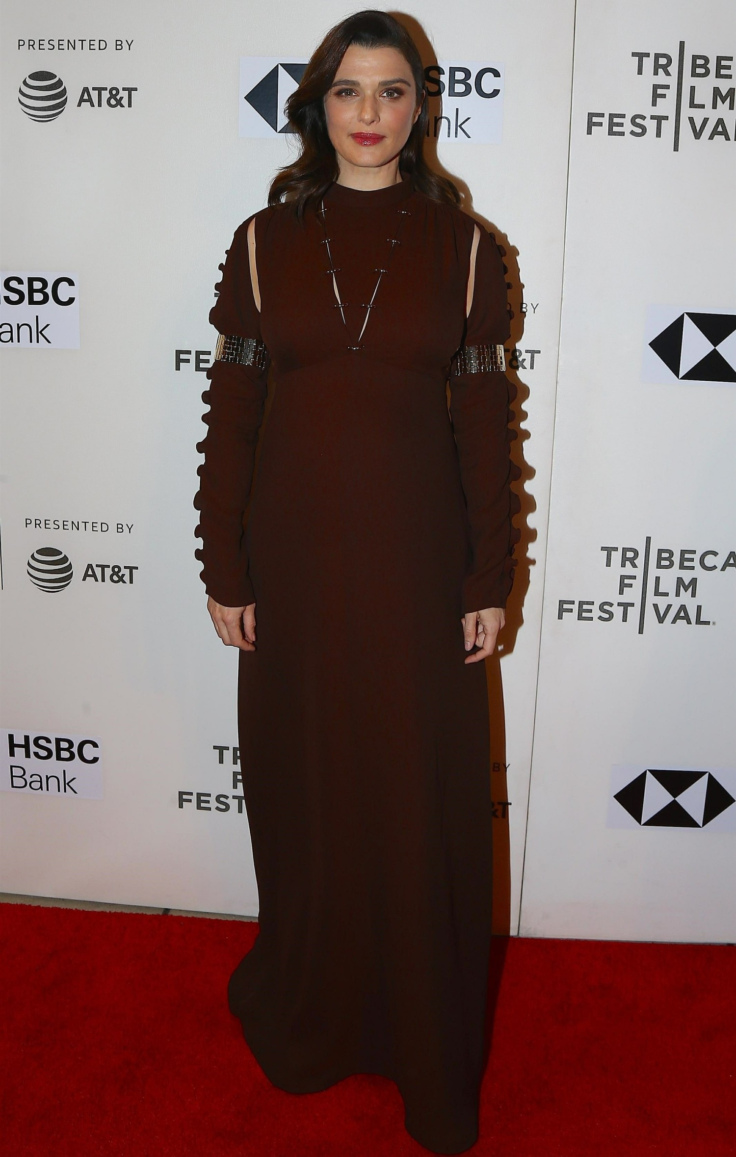 Rachel Weisz attends the 'Disobedience' premiere during the 2018 Tribeca Film Festival