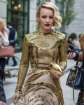 Rachel McAdams on her way to the Met Gala