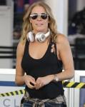 LeAnn Rimes arrives at LAX Airport