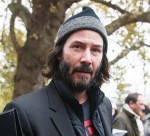 Keanu Reeves arriving at 'Le salon de la photo'