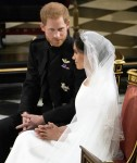 Prince Harry and Meghan Markle are married in St George's Chapel at Windsor Castle