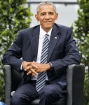 Barack Obama attends a Panel discussion in Berlin