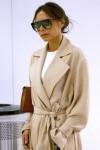 Victoria Beckham arrives to JFK airport