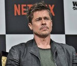"Brad Pitt attends Press conference to NETFLIX Film ""War Machine"" in Tokyo"