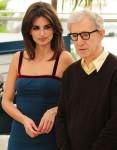 Penelope Cruz and Woody Allen