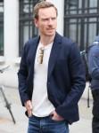Michael Fassbender seen leaving Radio 2