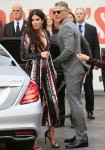 Sandra Bullock seen arriving at the London Premiere of Oceans 8