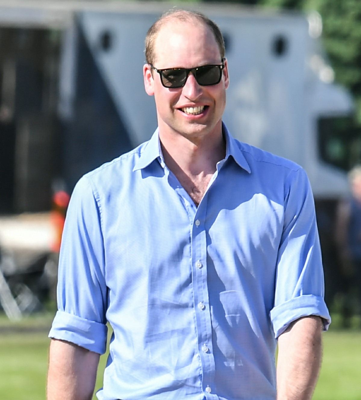 Prince William, Duke of Cambridge at the Maserati Royal Charity Polo Trophy 2018 at Beaufort Polo Club