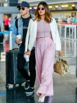 Priyanka Chopra and Nick Jonas make their relationship official arriving at JFK together