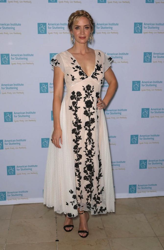 Emily Blunt and John Krasinski - Benefit Gala in NYC