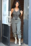 The Kardashian girls leaving Paint & Sip Studio in Los Angeles