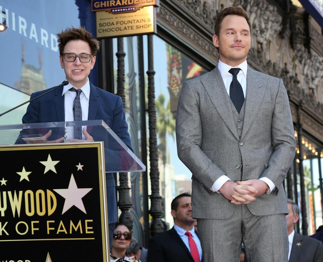Walk of Fame Star for Chris Pratt Ceremony