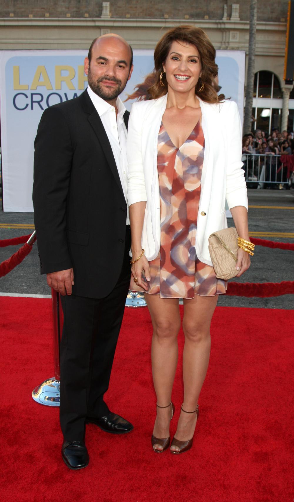 Cele Bitchy Nia Vardalos And Her Husband Ian Gomez
