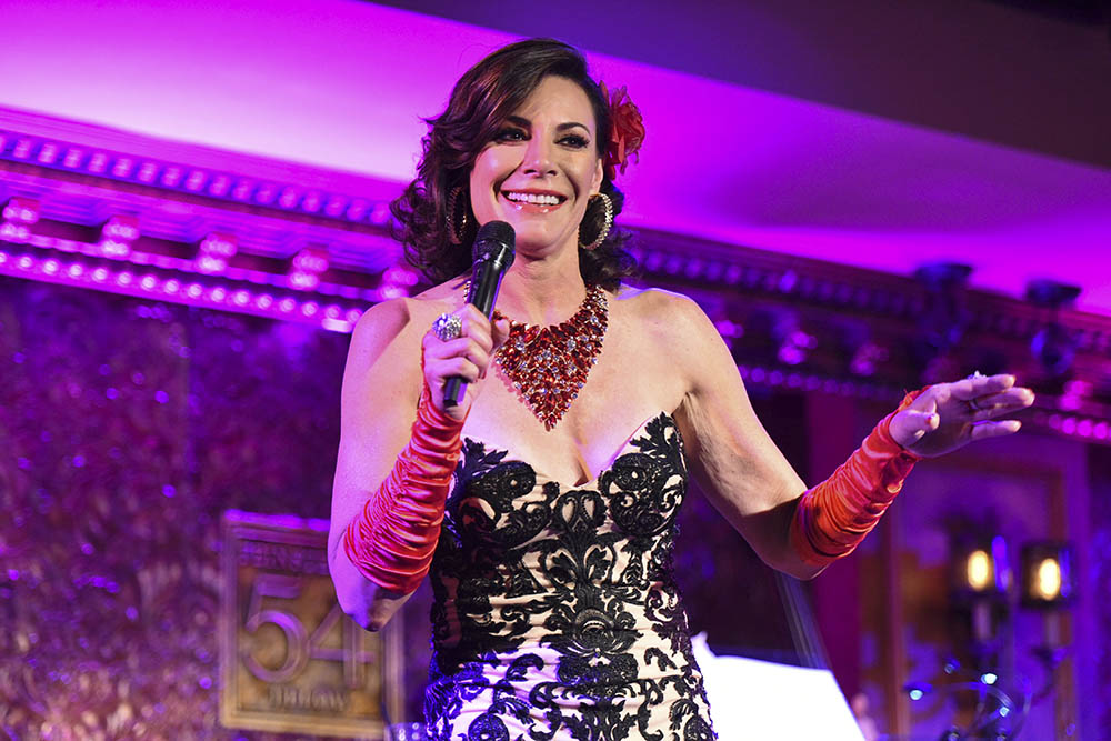 Luann de Lesseps cabaret act in NYC