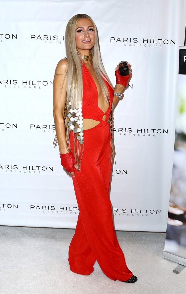 Paris Hilton Releases Skincare Line Pro D.N.A.