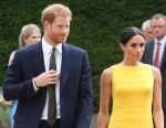 Prince Harry, Duke of Sussex, and Meghan, Duchess of Sussex, attend the Your Commonwealth Youth Challenge reception at Marlborough House in London