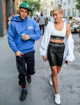 Justin Bieber and Hailey Baldwin spotted heading to Dinner in Brooklyn