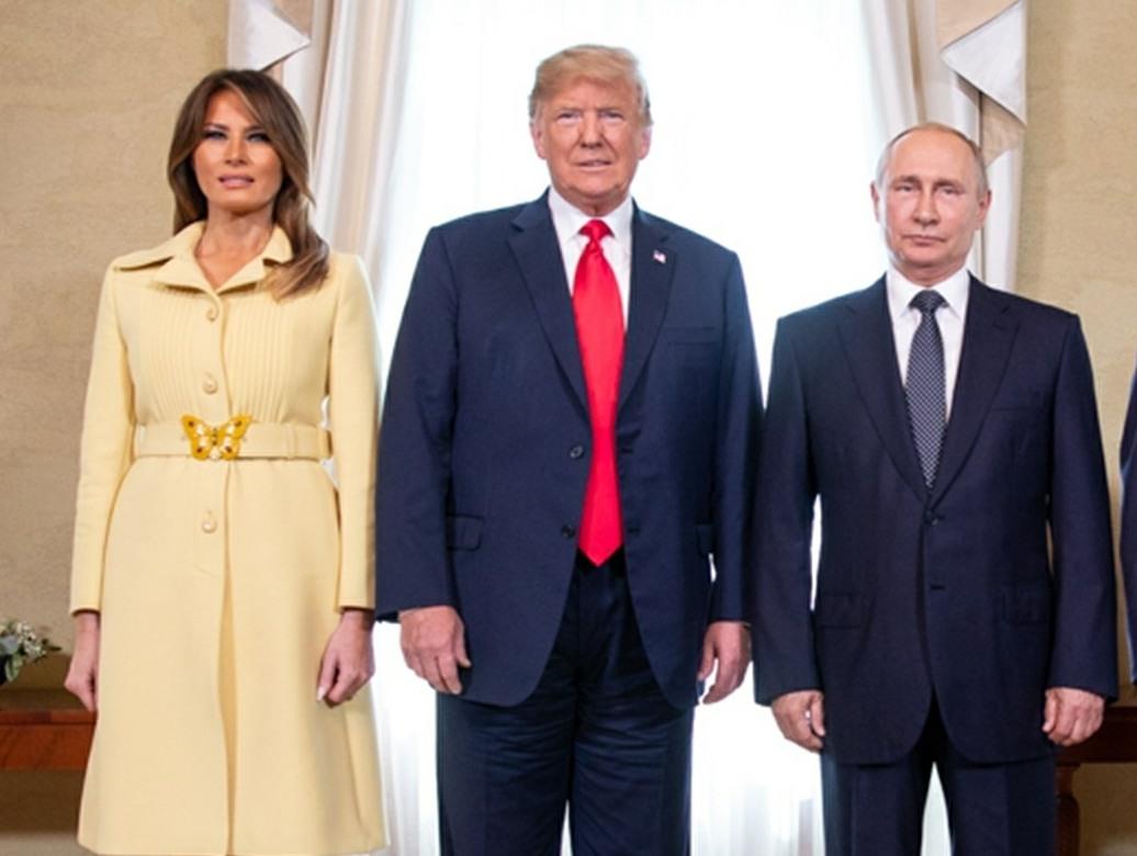 Donald Trump and Vladimir Putin meet in Finland