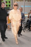 Jennifer Lopez seen arrives at Ripley-Grier Studios in NYC