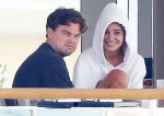 Leonardo DiCaprio has breakfast with new girlfriend Camille Morrone in Antibes
