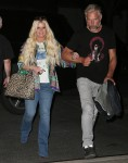 Jessica Simpson and Eric Johnson head back to their hotel after a night out in NYC