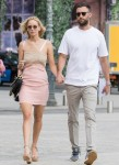 Lovebirds Jennifer Lawrence and Cooke Maroney enjoy a romantic stroll through Paris