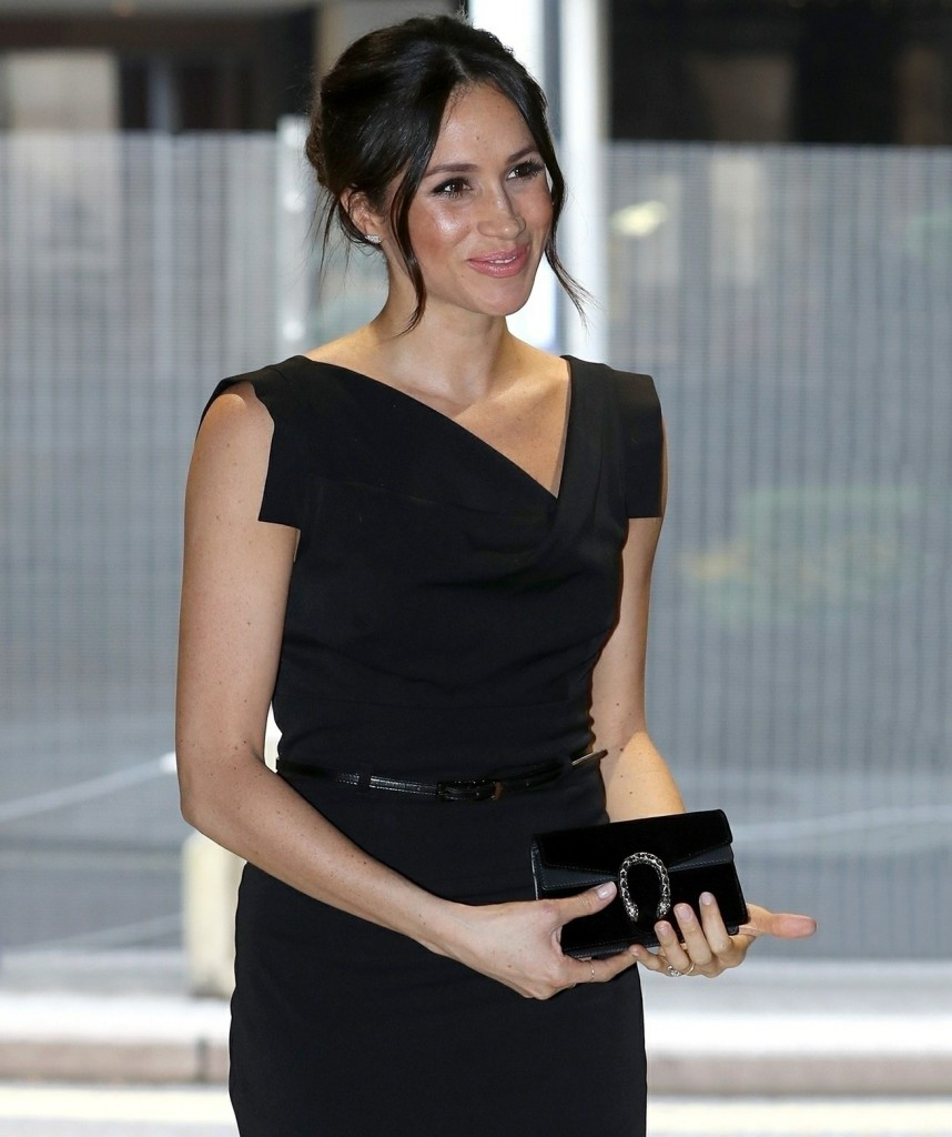 Prince Harry and Meghan Markle attend a Women's Empowerment Reception