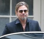 Brad Pitt is seen after shopping in Paris