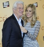 Richard Gere arrives for the premiere of 'The Dinner'