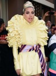 Lady Gaga Departs Recording Studio