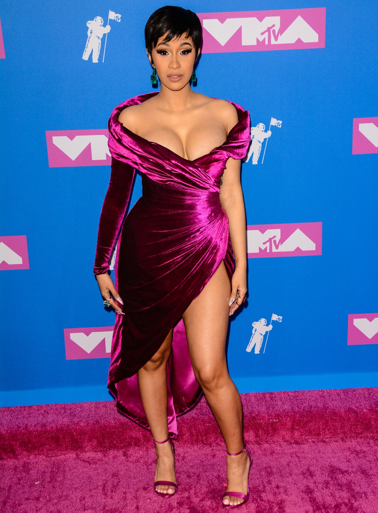 Cardi B Just Got A Giant New Offset Tattoo On Her Leg: Cardi B 'might Just Get A Little Lipo' To
