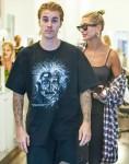 Hailey Baldwin takes Justin Bieber to get a trim at Cutler Salon in SoHo
